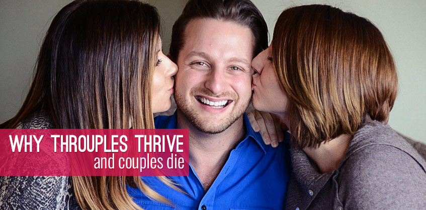 Why throuples thrive and couples die